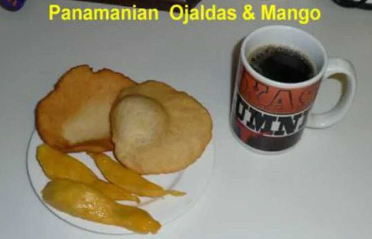 Making Panamanian Ojaldas - Fried Bread (VIDEO)